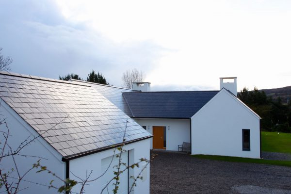 This new home is located on a rural site in county Wicklow.