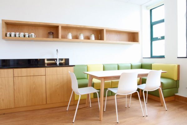 We were invited to design a family room and bereavement room for a maternity ward.
