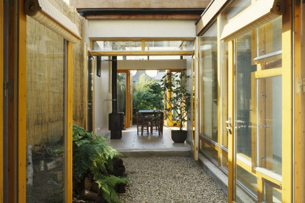 A new extension to the rear of a Victorian House in Dublin