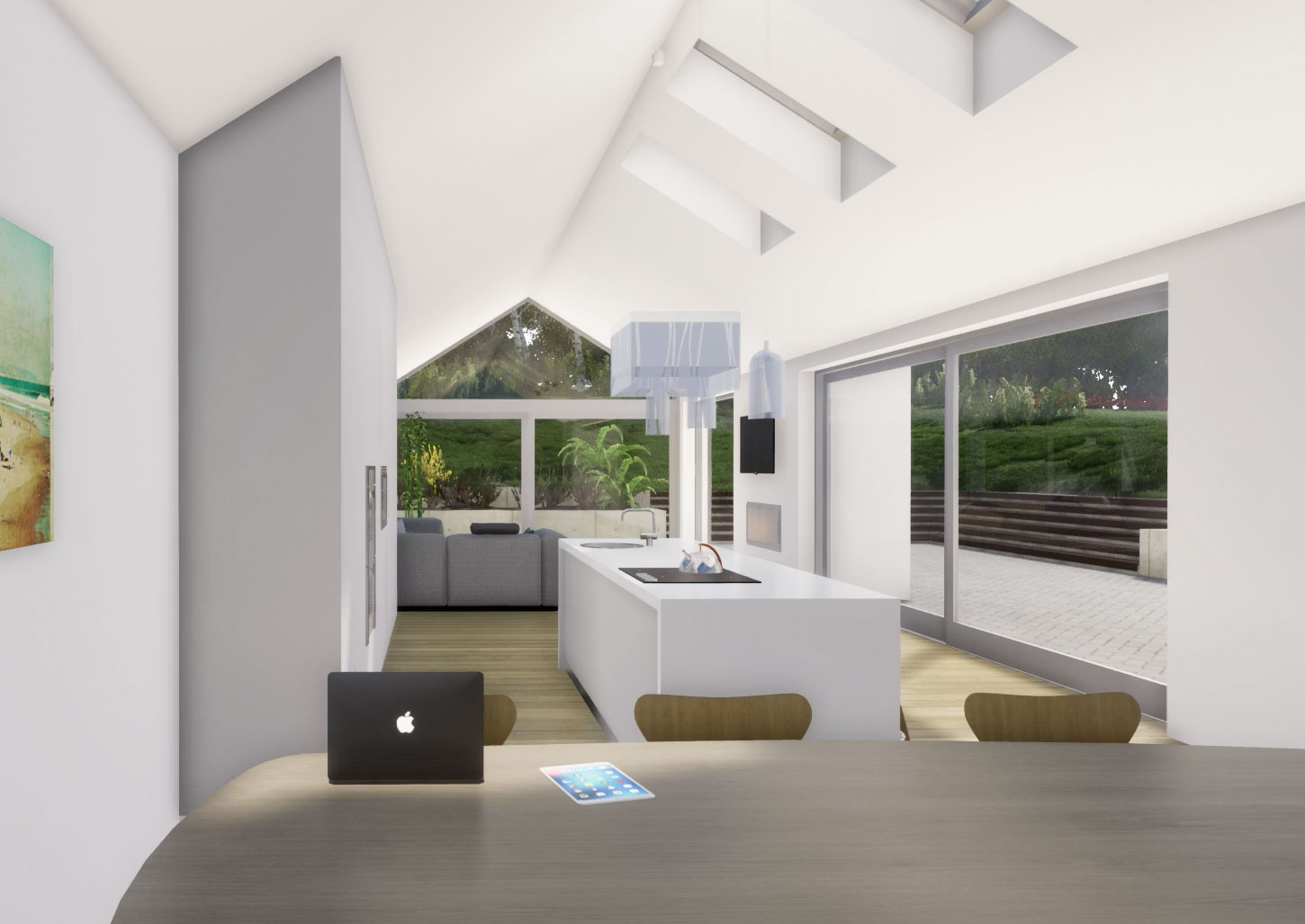 A contemporary extension and renovation of a 19th century worker's cottage in Newtownmountkennedy