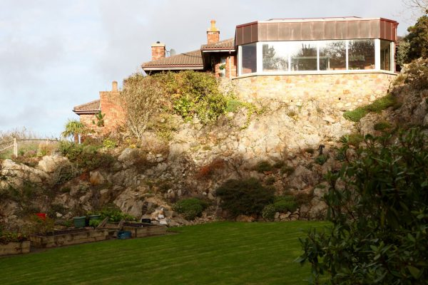 Extensive internal and external remodelling to this house in Howth