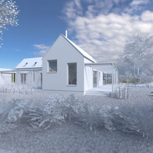This new home is located at a sea-side location in Co. Wexford.